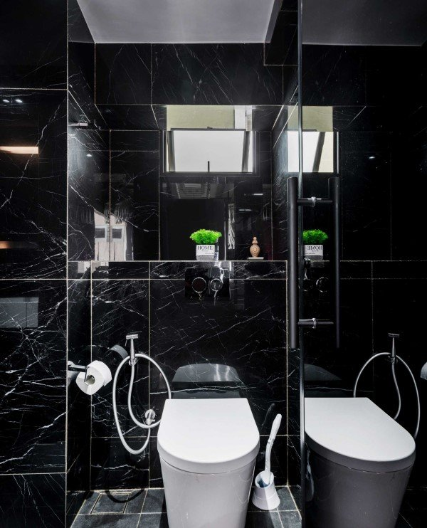 5 Simple Ways To Colour Your Boring Bathrooms