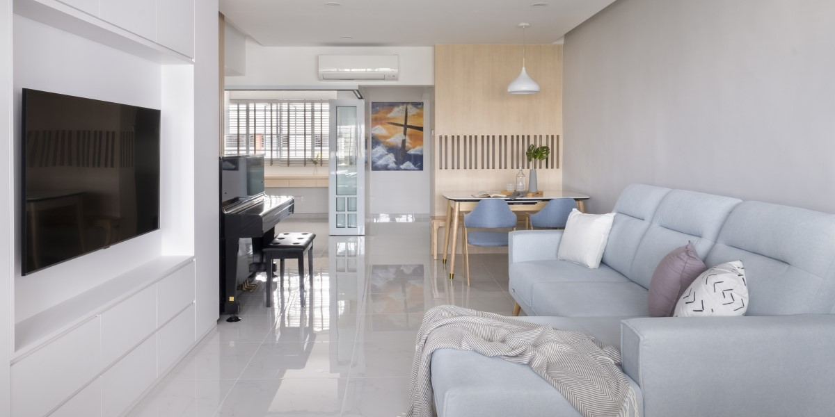 Dreamy White Elegance Interior