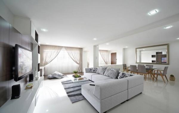 Brilliant White Apartment