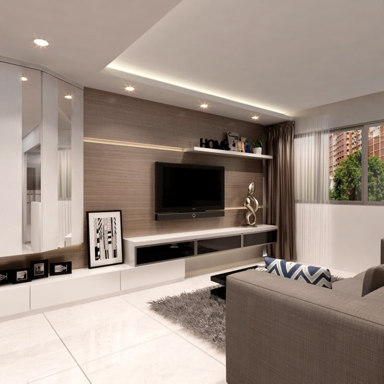 Ax image hdb bto 4 room sengkang 1 home renovation singapore for Living room designs singapore
