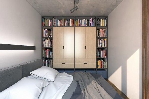 cool-bookshelf-and-wardrobe-combination-600×400