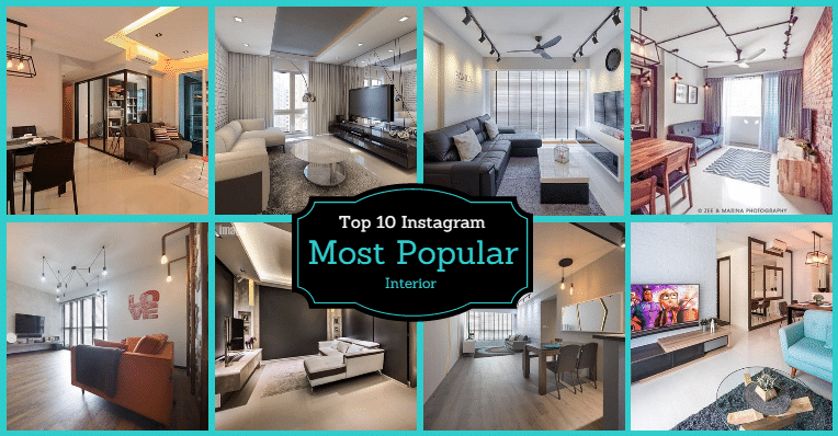 10 of the most liked interior photos ON Instagram
