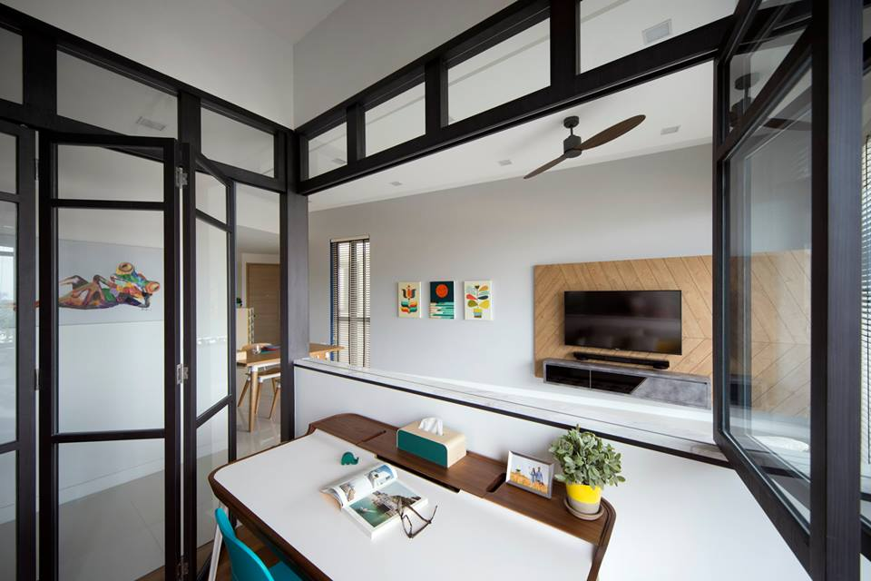 Warm and natural feel for Home design ideas singapore