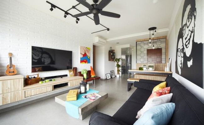 Artistic Living rooms (5)