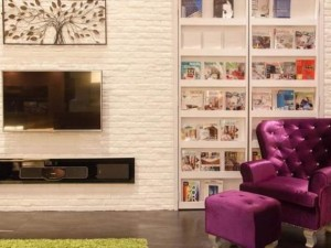 How bricks can change the look of your apartment?
