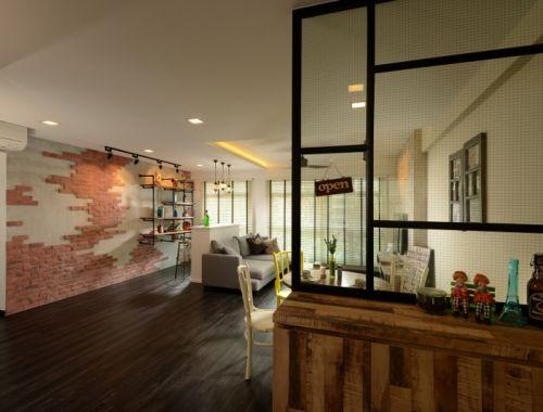 How natural bricks can change the look of your apartment009