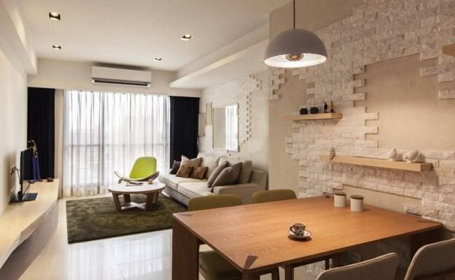 How natural bricks can change the look of your apartment013