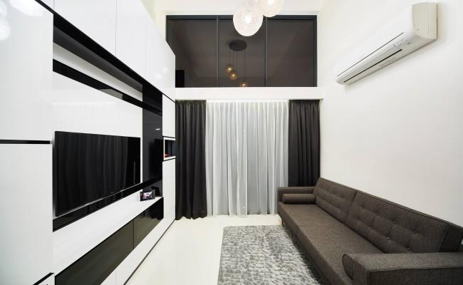 How to create stunning black and white interior design 002