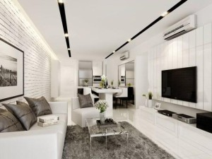 How to create stunning black and white interior design?