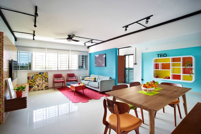 The Beauty of Blue  8 Examples of How This Creative Colour Can Enrich Your Home 001