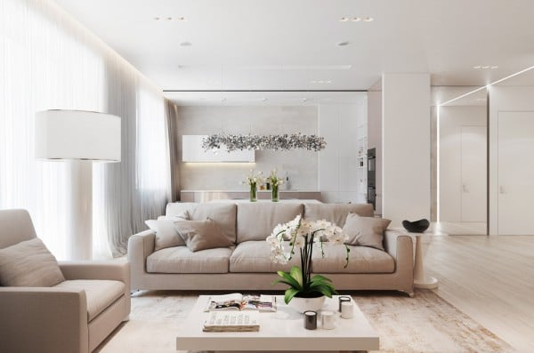 bright-tan-and-white-living-room-600×397