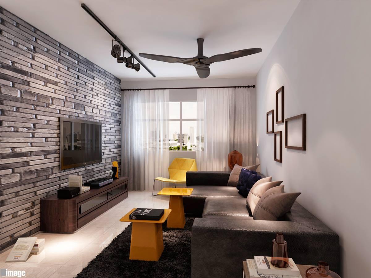 Living room interior design 5 home renovation singapore for Living room interior design singapore