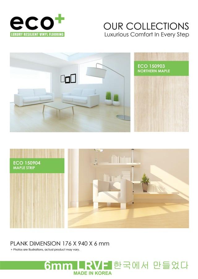 Eco Vinyl Flooring Home Design