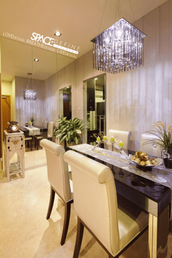 A fine dine with space define interior home renovation for Interior design definition