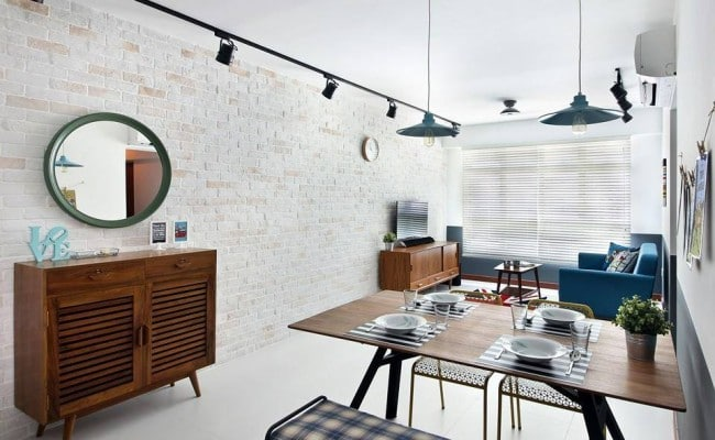 Beautiful Brick  7 Stunning Interiors Enhanced By This Material (4)