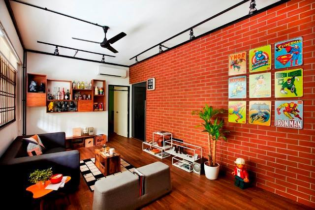 Beautiful Brick:  7 Stunning Interiors Enhanced By This Material