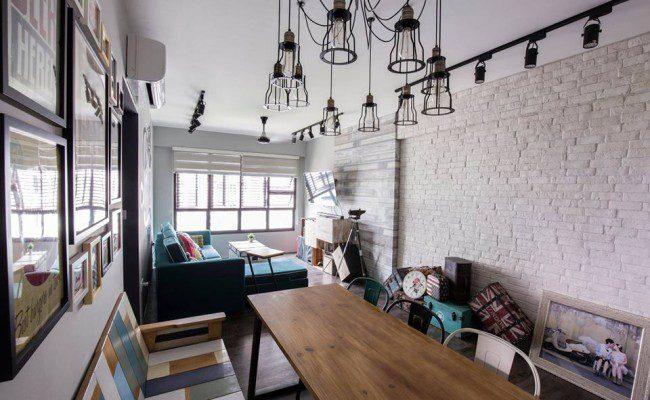 Beautiful Brick  7 Stunning Interiors Enhanced By This Material (9)