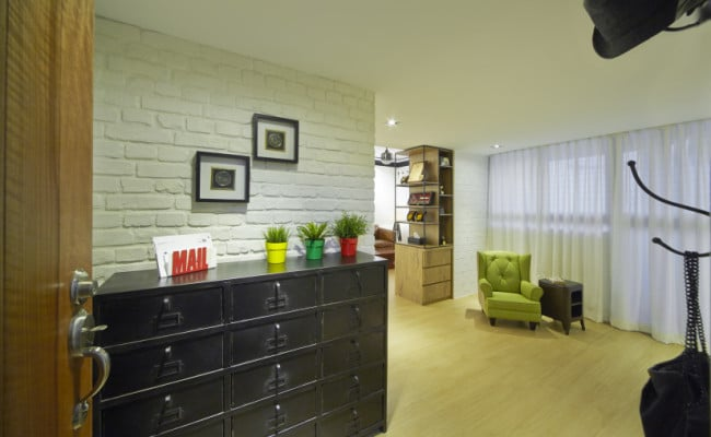 Breathe fresh with refreshing green interior (4)