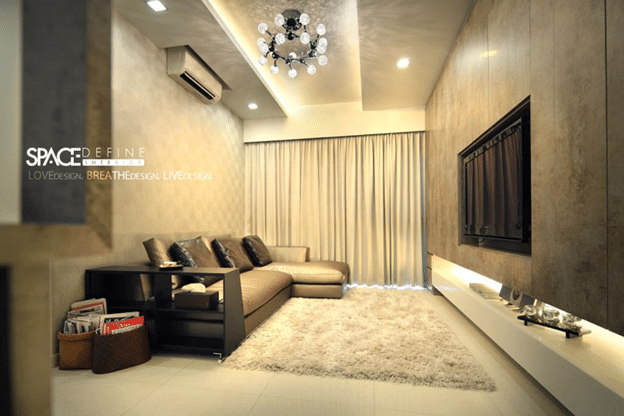 Contemporary modern living rooms by Space Define (11)