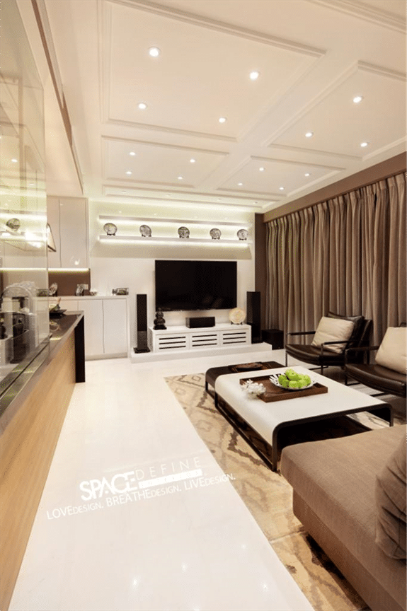 Contemporary modern living rooms by Space Define (3)