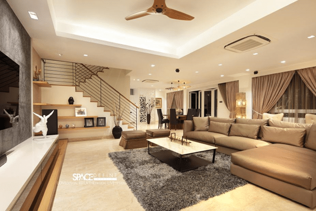 Contemporary modern living rooms by Space Define (7)
