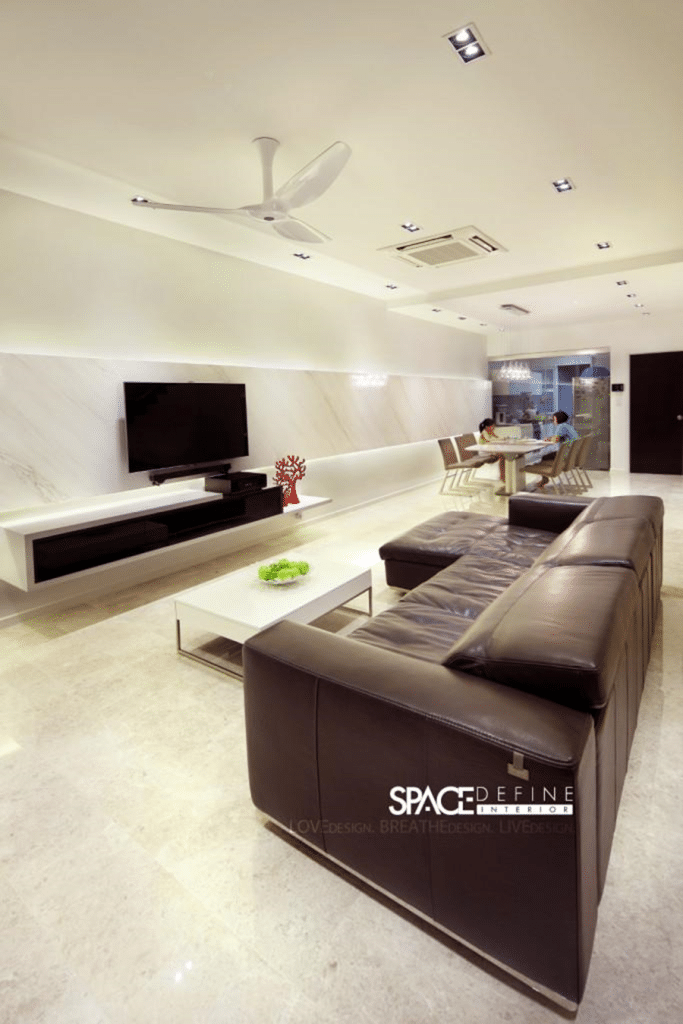 Contemporary modern living rooms by Space Define (9)