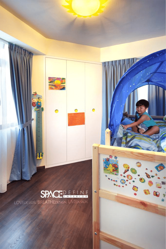 Super Cool And Creative Kid Room Interior Designed By Space Define
