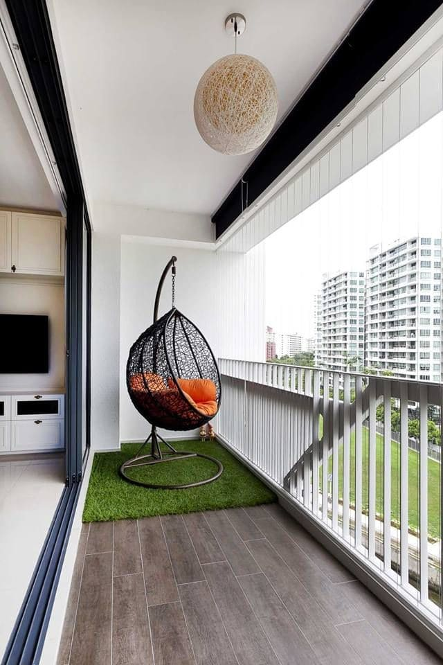 Hanging Pretty 7 Amazing Examples of Hanging Chairs At Play (13)
