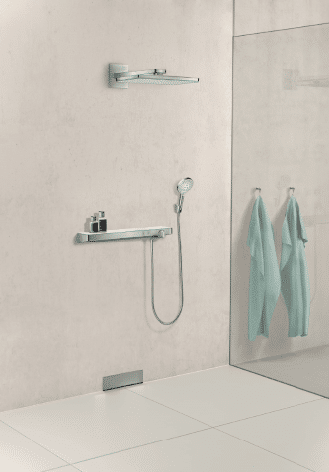 Hansgrohe's New Rainmaker Select Overhead Showers