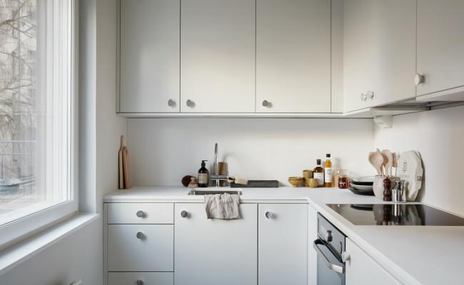 Small-all-white-kitchen