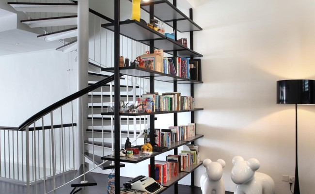 Stairway to Heaven  7 Interiors With Spectacular Step Designs (6)
