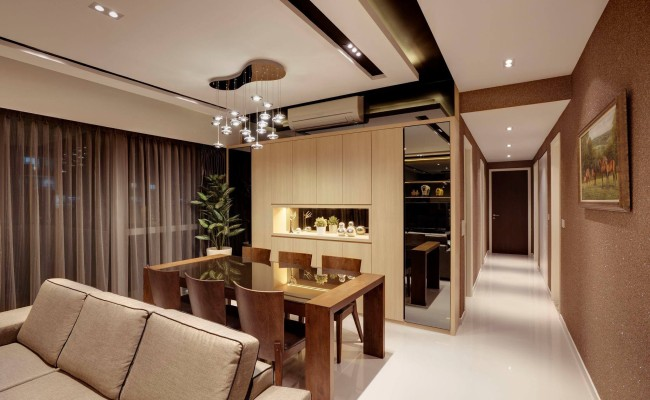 Vigilant Lighting Elements Dramatically Add a Timeless Spark to these 6 Affluent Apartments  (10)