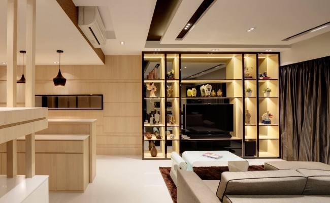 Vigilant Lighting Elements Dramatically Add a Timeless Spark to these 6 Affluent Apartments  (11)