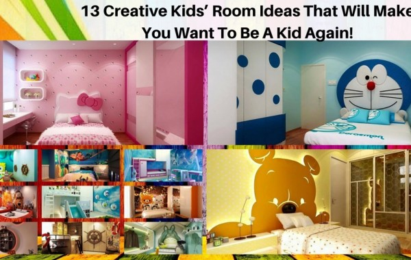 13 Creative Kids' Room Ideas That Will Make You Want To Be A Kid Again