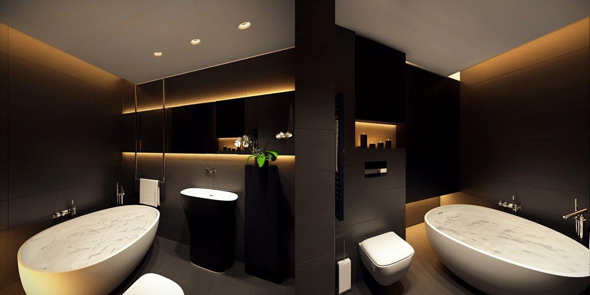Beau Luxury Bathroom Design