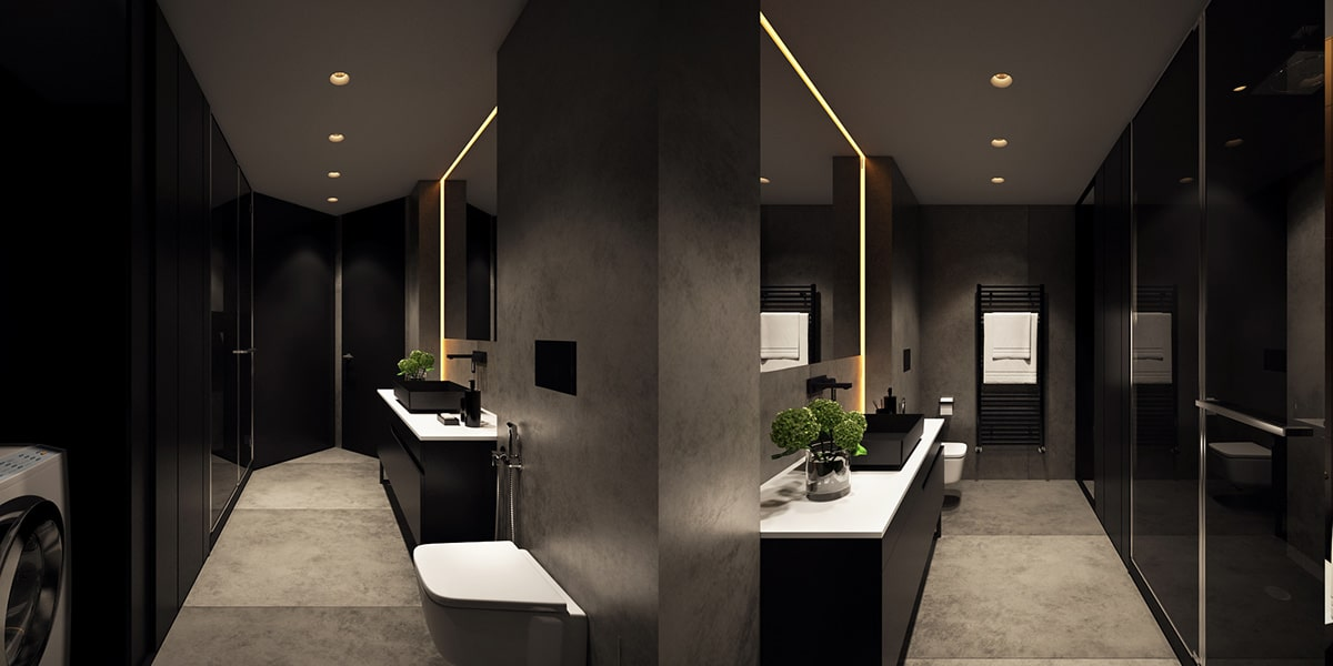 luxury bathroom lighting luxury bathroom lighting home renovation singapore 13552