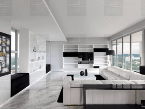 Black and white interior designs That look dazzling and striking