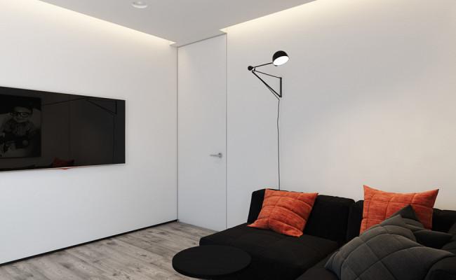 orange-and-black-bedroom-design