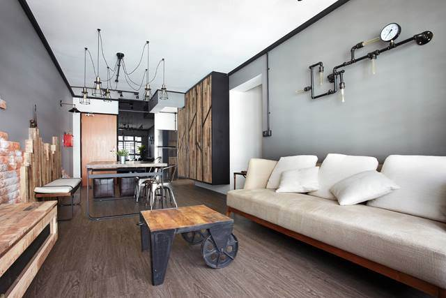 Gorgeous Exposed Pipes For Your Home IndustrialChic You Can Flaunt