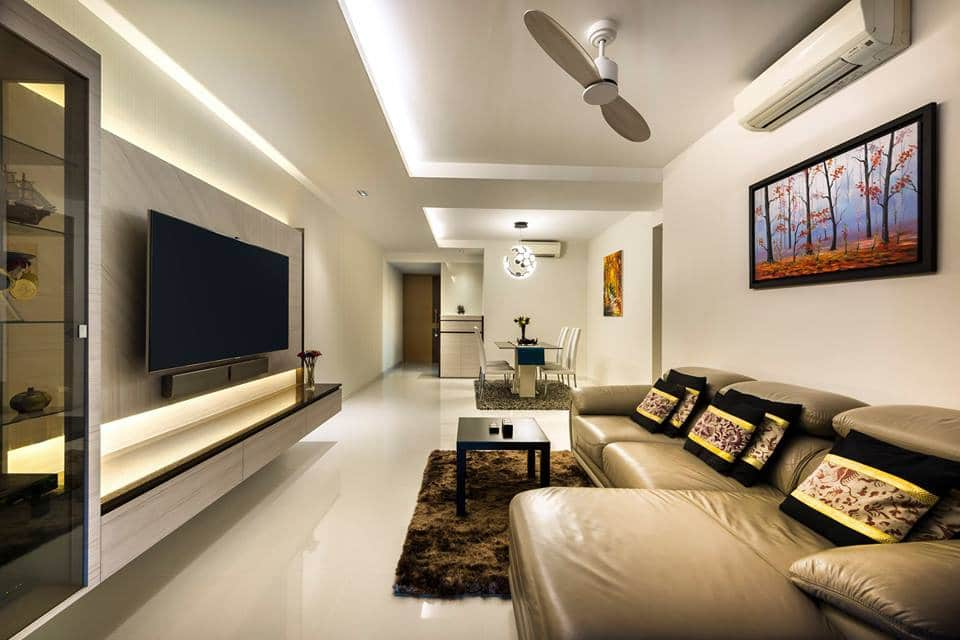 Living room design that offers a welcoming first impression for First apartment living room ideas