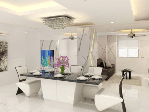 Fascinating Dining Space Wall Ideas