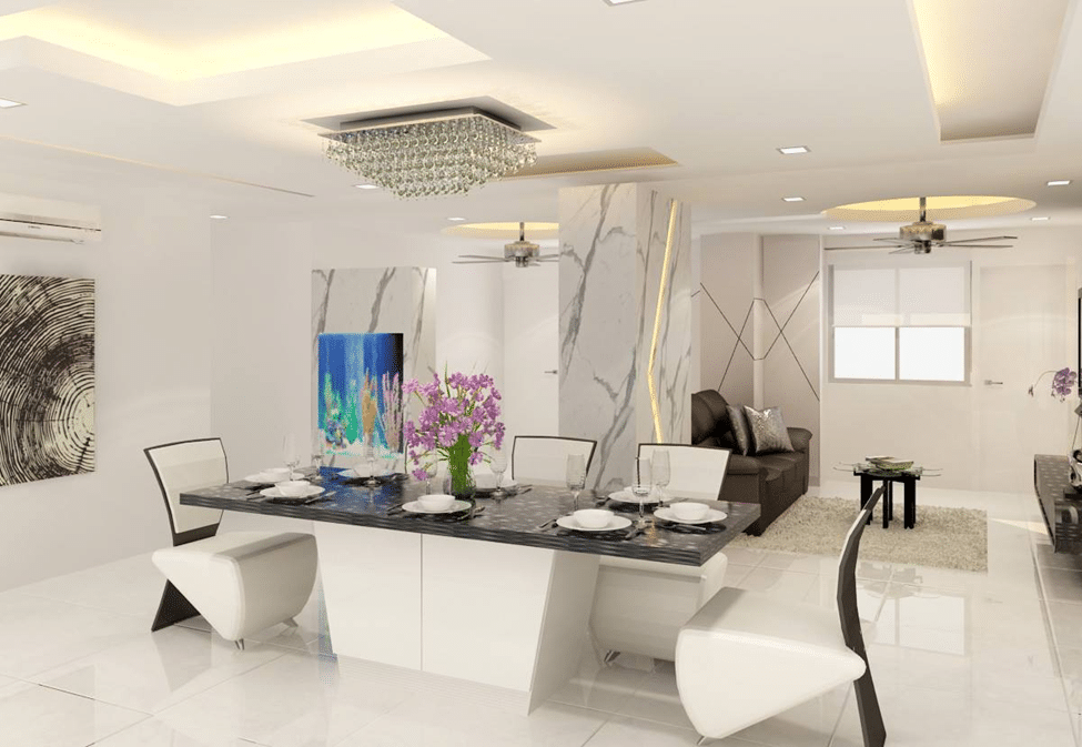 Dining Space Wall Ideas (1)
