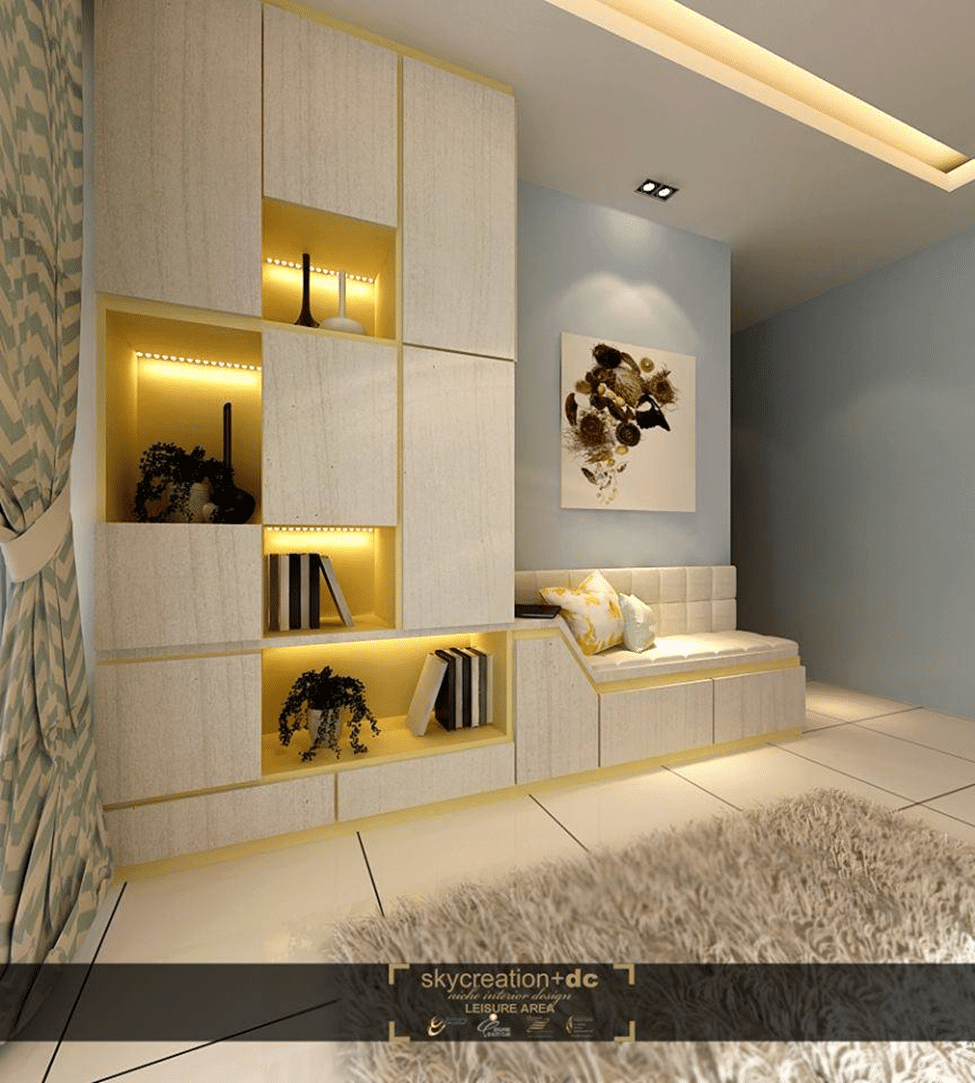 Living Room Cabinet Design Singapore: Luxurious Display Cabinets
