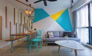 Geometric Interior Design the beauty of geometry & interior design