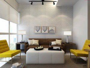The Magic Of White brick Interior Design