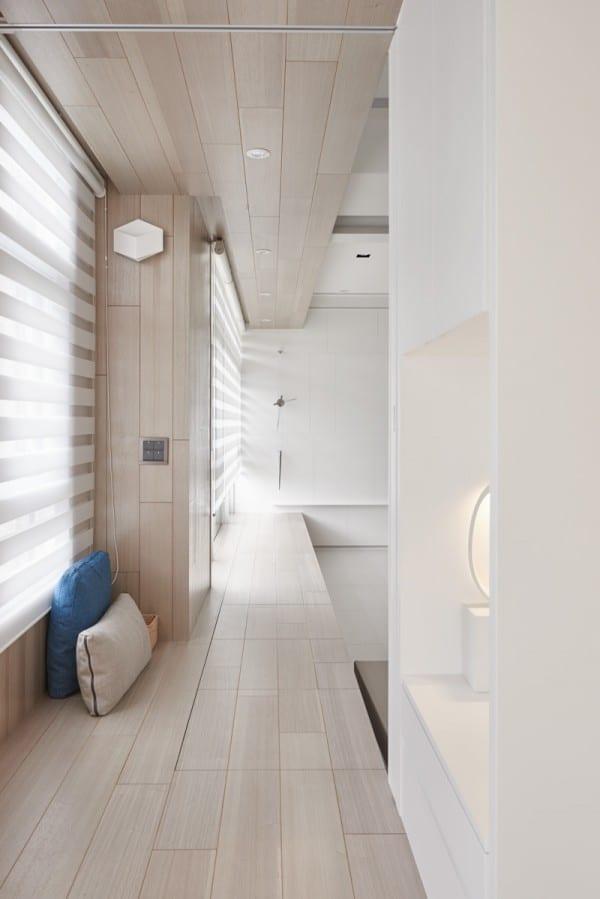 White Wood Interior : White and wood Interior Design (14)