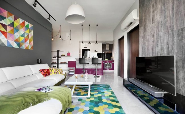 Colour harmony is drastically enhancing the look of these - Harmony in interior design ...