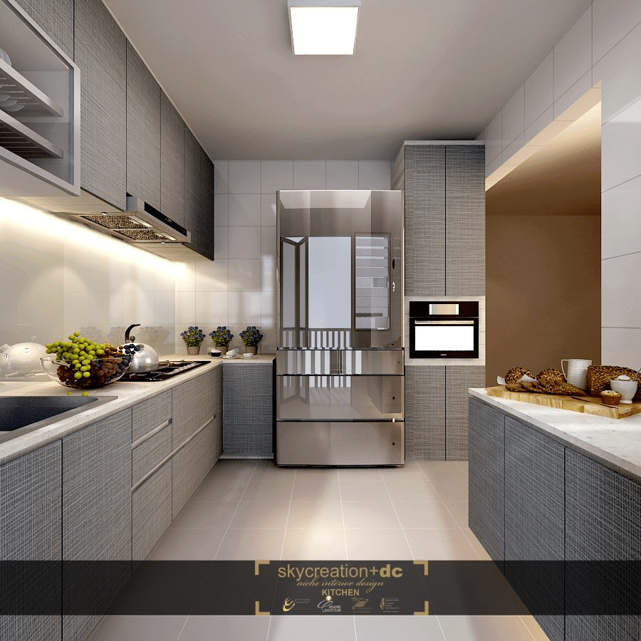 Kitchen Interior Design Singapore: Home Renovation Singapore