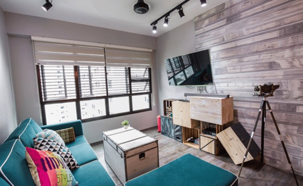 Rustic Studio Interior Decor