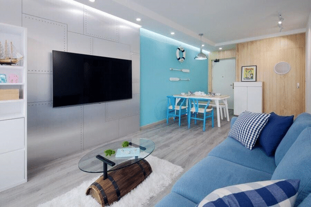 Different Splashes of Aqua for your home